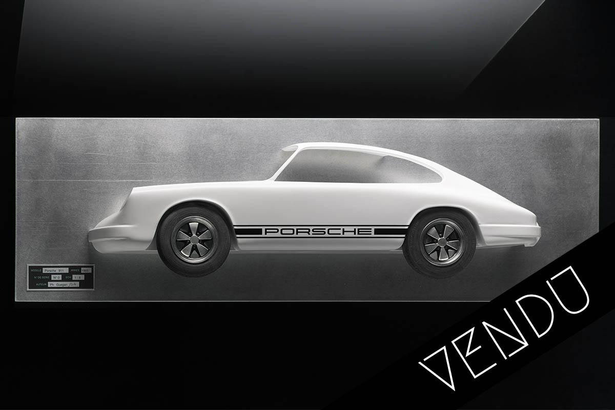 Tableau 3D Porsche 911 Art Moteur 1 vendu