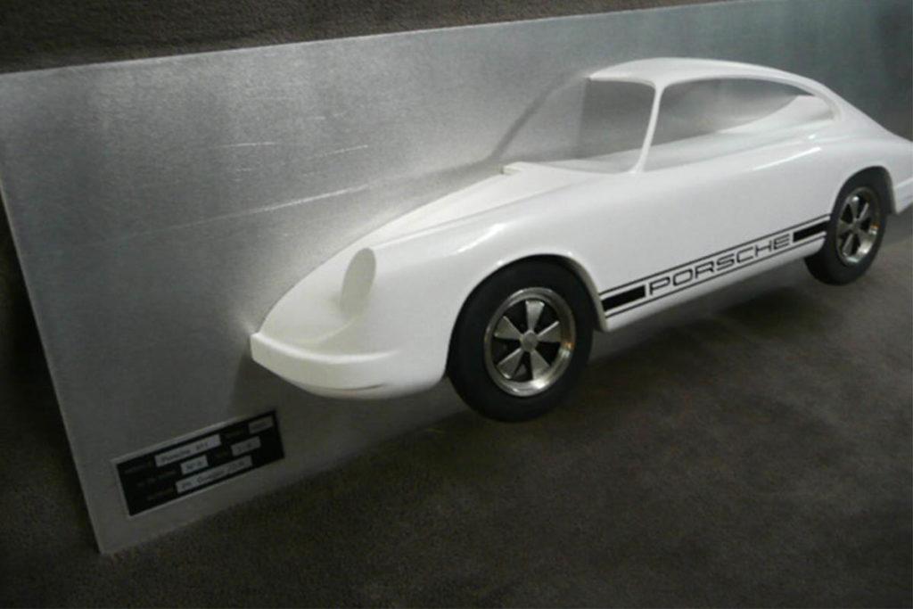 Tableau 3D Porsche 911 Art Moteur 2