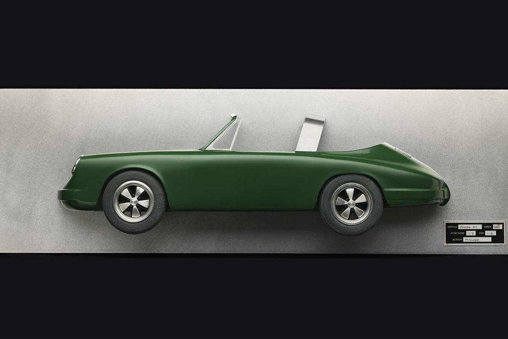 Tableau 3D Porsche Targa Art Moteur 1