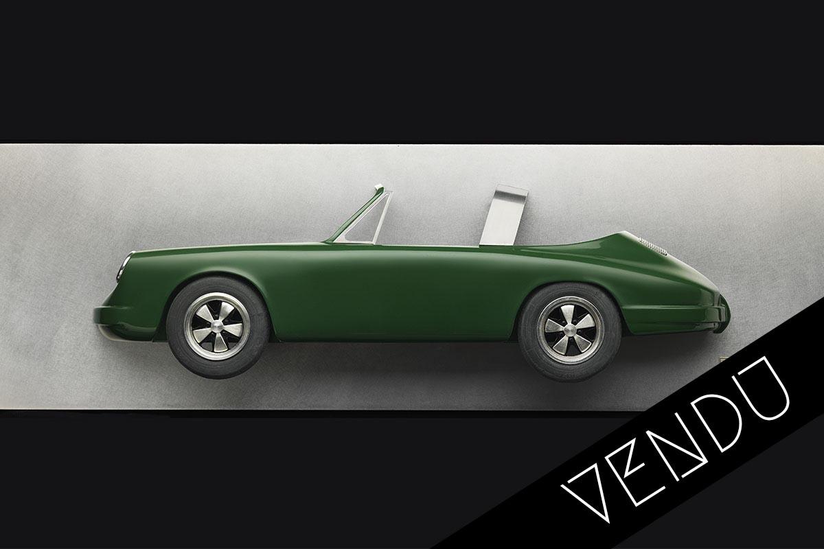 Tableau 3D Porsche Targa Art Moteur 1 vendu
