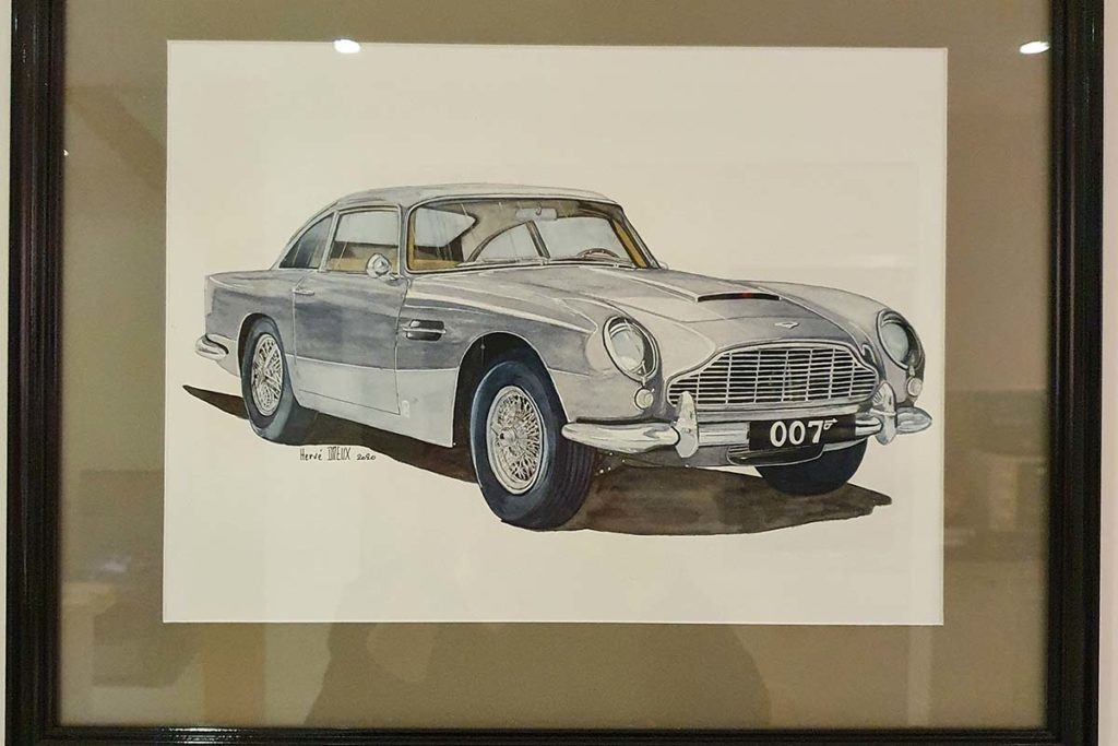 Aston Martin DB5 007 Herve Dreux