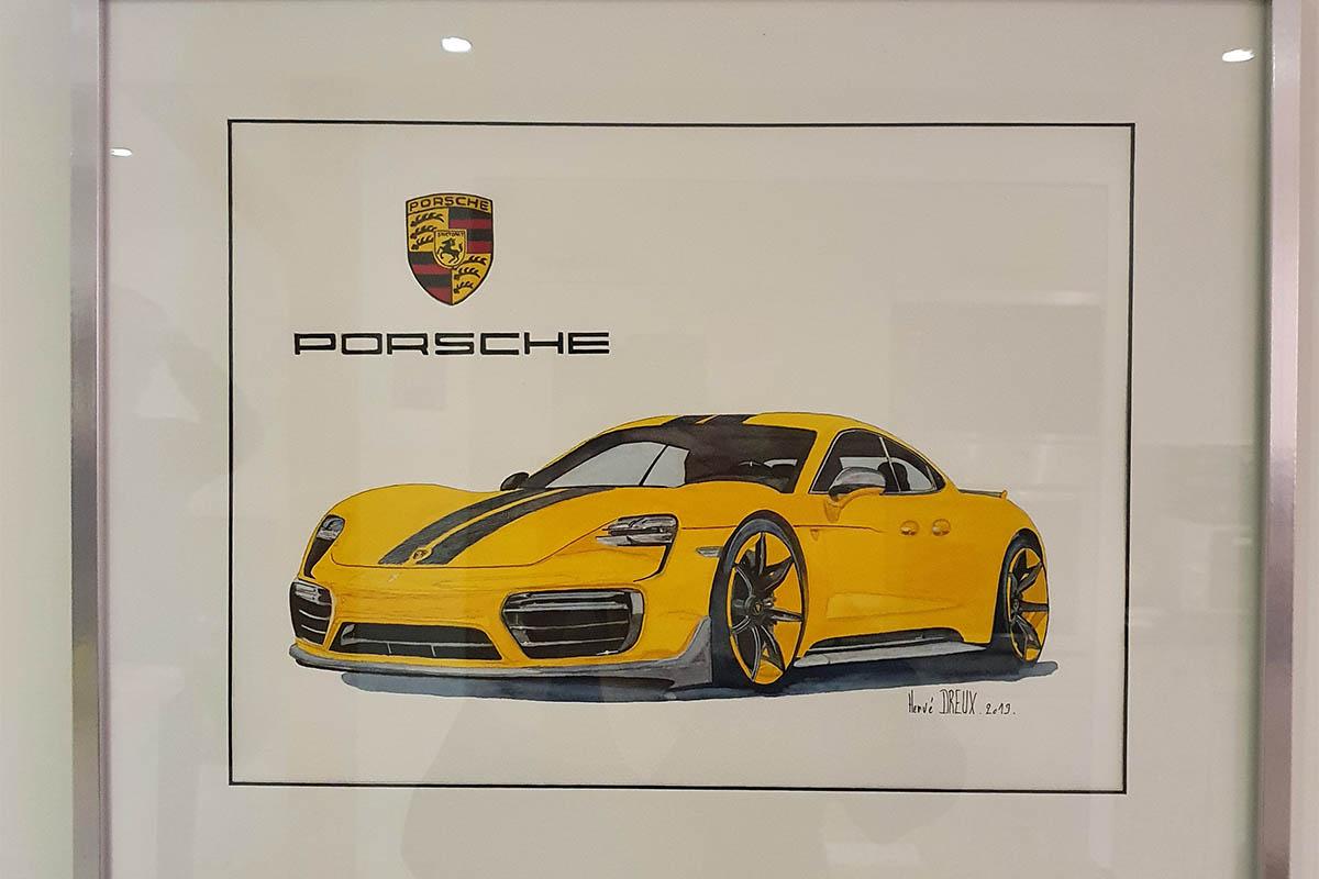 Porsche Taycan Herve Dreux 1